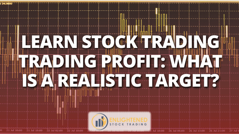 Learn Stock Trading Trading Profit: What Is A Realistic Target?