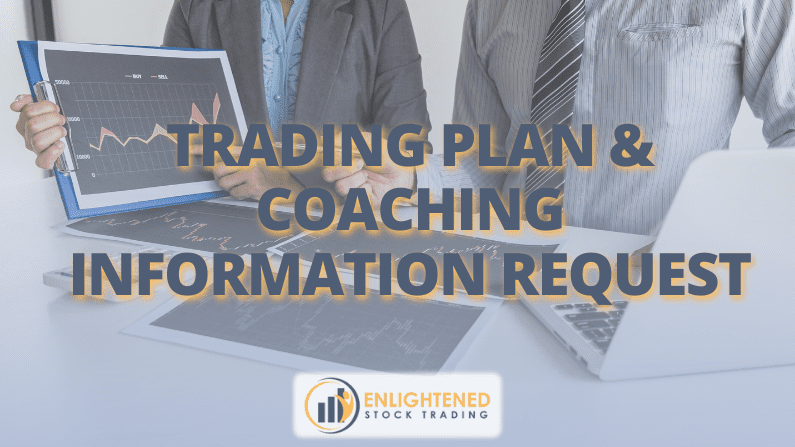 Trading Plan & Coaching Information Request