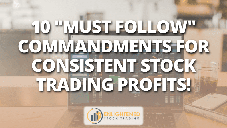 Learn Stock Trading | 10 Commandments For Profitable Stock Trading
