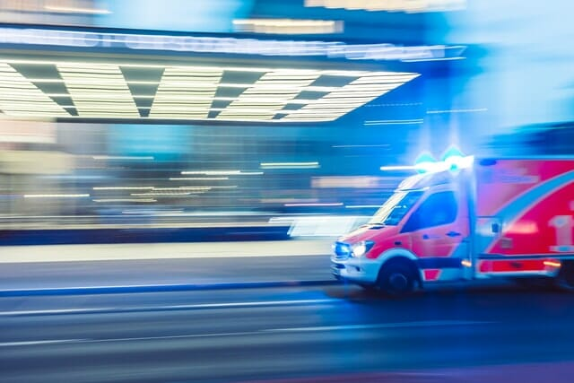 Picture of an Ambulance - Sometimes you need Portfolio CPR to improve your stock trading results