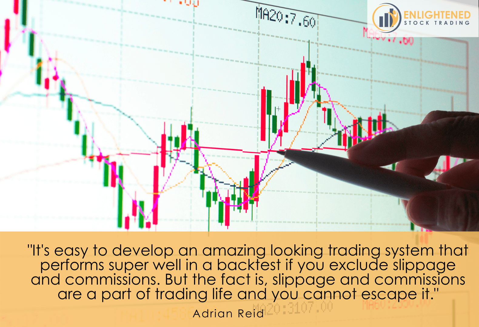 Backtest your trading system with slippage and commisison as they are unavoidable in real trading