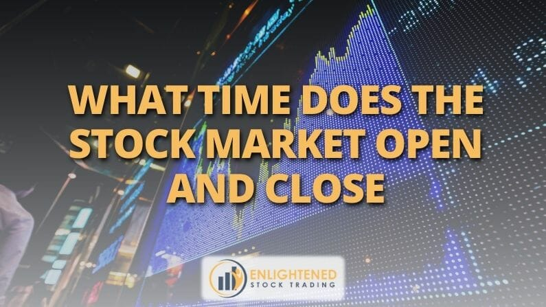 when does the stock market open