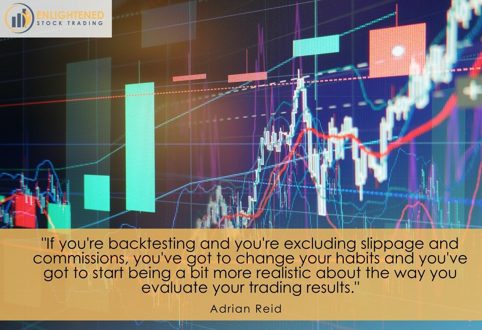 Backtest your trading system with slippage and commission to give more realistic trading results